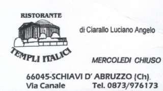 Ristorante Templi Italici