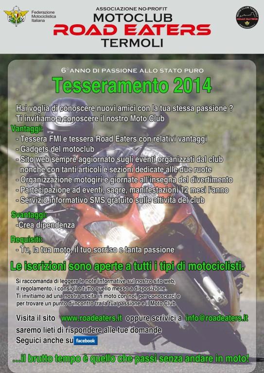 Locandina Road Eaters 2014