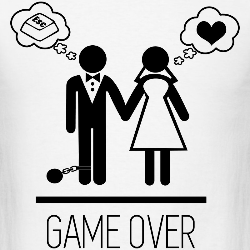 couples-game-over-wedding-marriage-men-s-t-shirt